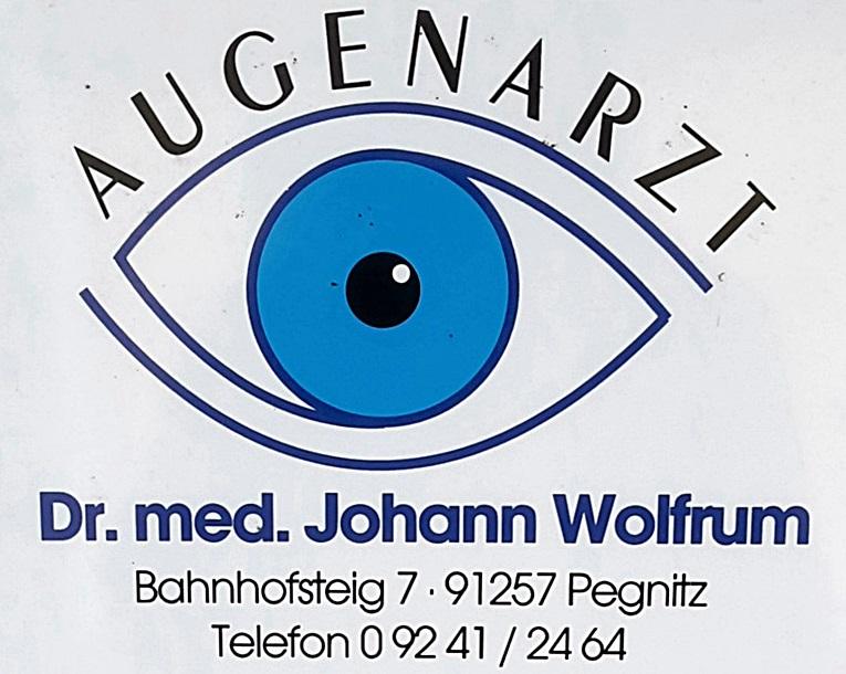 Augenarzt Dr  Johann Wolfrum, 91257 Pegnitz, Tel : 09241